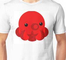 My Little Red Octopus Unisex T-Shirt