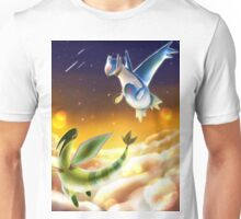 Flygon and Latios Unisex T-Shirt