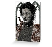Victorian Gothic Greeting Card