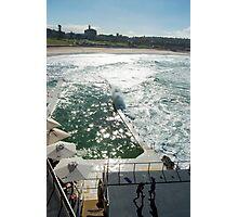 Bondi Beach icebergs Boxercise  Photographic Print