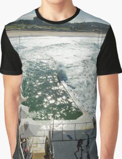 Bondi Beach icebergs Boxercise  Graphic T-Shirt