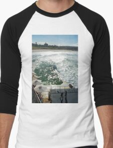 Bondi Beach icebergs Boxercise  Men's Baseball ¾ T-Shirt