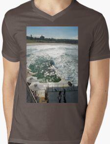 Bondi Beach icebergs Boxercise  Mens V-Neck T-Shirt