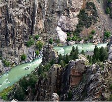 Gunnison River in the Black Canyon by Graeme  Hyde