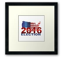 The United States presidential election 2016 Framed Print