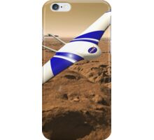 NASA ARES Drone Flying Over Mars iPhone Case/Skin