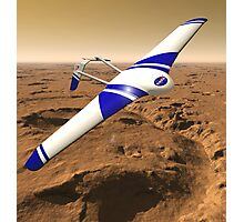 NASA ARES Drone Flying Over Mars Photographic Print