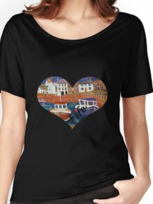 Crail Harbour Women's Relaxed Fit T-Shirt