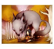 Wolf Lullaby  Photographic Print