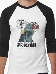 Fullmetal Alchemist Forever Men's Baseball ¾ T-Shirt