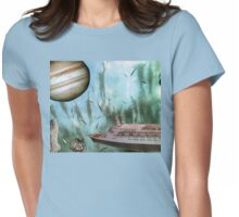 WATER WORLD Womens Fitted T-Shirt