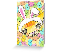 """""""Oro?"""" Series Easter Greeting Card"""