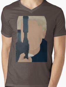 The Force Awakens: Han  Mens V-Neck T-Shirt