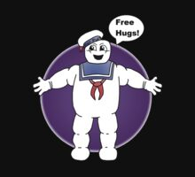 """""""Free Hugs From The Marshmallow Man"""" by FlyingDreamer"""