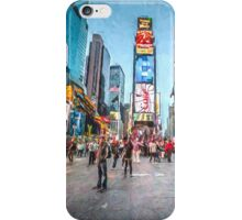 Times Square (ch) iPhone Case/Skin