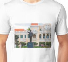 Statue of Ho Chi Minh at City Hall Saigon Unisex T-Shirt