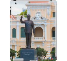 Statue of Ho Chi Minh at City Hall Saigon iPad Case/Skin