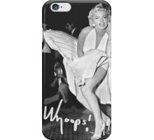 Marilyn Monroe Print iPhone Case/Skin