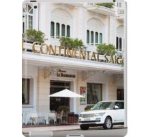 Hotel Continental Saigon iPad Case/Skin