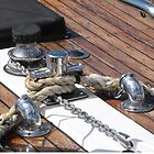 Shiny, Clean & shipshape! Geelong Waterfront.  Victoria. by Rita Blom