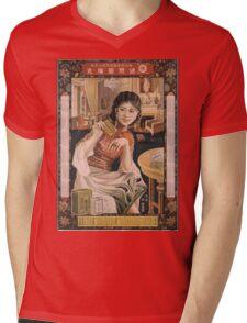 Vintage poster - Ken I Kohojo Tablets Mens V-Neck T-Shirt