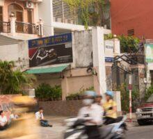 Rush Hour Saigon Vietnam Sticker