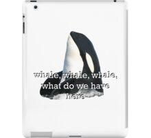 Whale Whale Whale... Sticker iPad Case/Skin