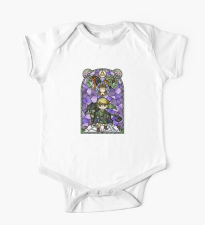 Twilight Princess Stained Glass, Purple Version One Piece - Short Sleeve