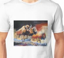010316 Ancient Buffalo Hunt Unisex T-Shirt