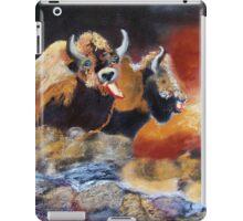 010316 Ancient Buffalo Hunt iPad Case/Skin