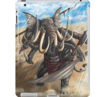 elephant god ganesh iPad Case/Skin