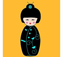 Japanese Geisha Doll Photographic Print