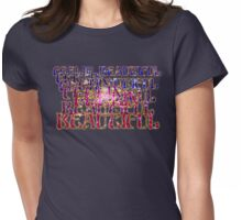 Retro-Feelin' Beautiful Womens Fitted T-Shirt
