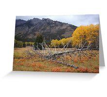 Autumnal Banff Greeting Card