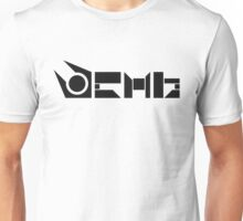 Combine Symbol   Black Unisex T-Shirt