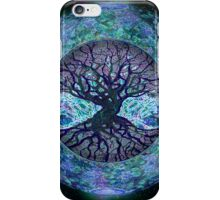Planet Earth Circle of Life iPhone Case/Skin