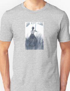 Rey in Snow Unisex T-Shirt