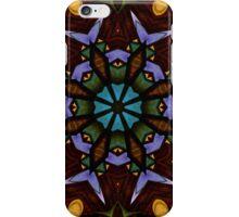 The Wheel of Life - Mandala iPhone Case/Skin