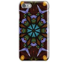 The Wheel of Life - Mandala iPhone Case/Skin