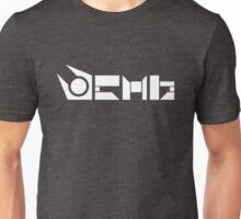 Combine Symbol   White Unisex T-Shirt