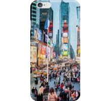Times Square Tourists (eh) iPhone Case/Skin