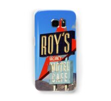 Route 66 - Roy's of Amboy, California Samsung Galaxy Case/Skin