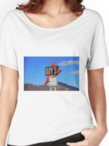 Route 66 - Roy's of Amboy, California Women's Relaxed Fit T-Shirt
