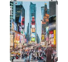 Times Square Tourists (eh) iPad Case/Skin