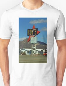 Route 66 - Roy's of Amboy, California Unisex T-Shirt