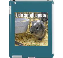 lolz Poopz Hamster iPad Case/Skin
