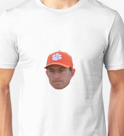 Dabo Swinney Face Unisex T-Shirt