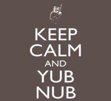 Keep Calm & Yub Nub Baby Tee