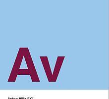ASTON VILLA FOOTBALL CLUB POSTER by lfc2123