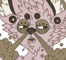 Howl Louder Sticker